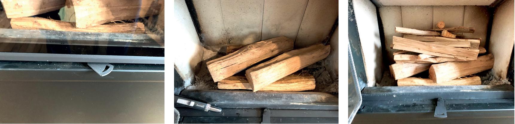 Gestion des arrivées d'air pour allumer son poêle à bois ROMOTOP