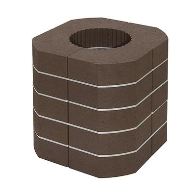 bloc accumulation superieur pour poele a bois variant par romotop