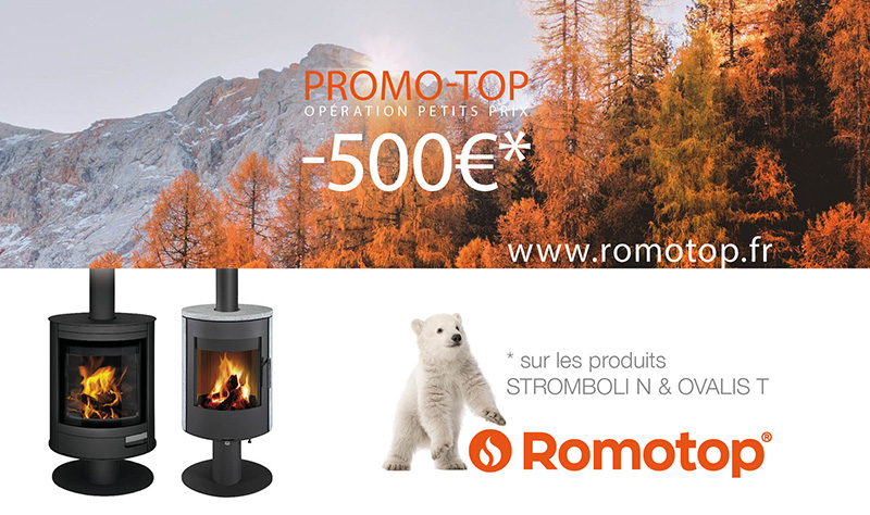 Promo-top poêles pivotants