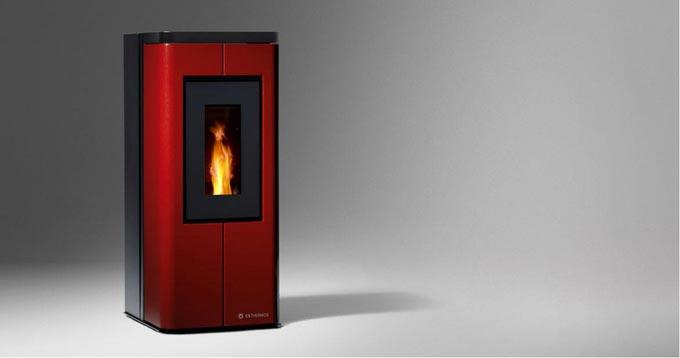 Poêle à granulés et biomasse SCRIGNO par CS Thermos
